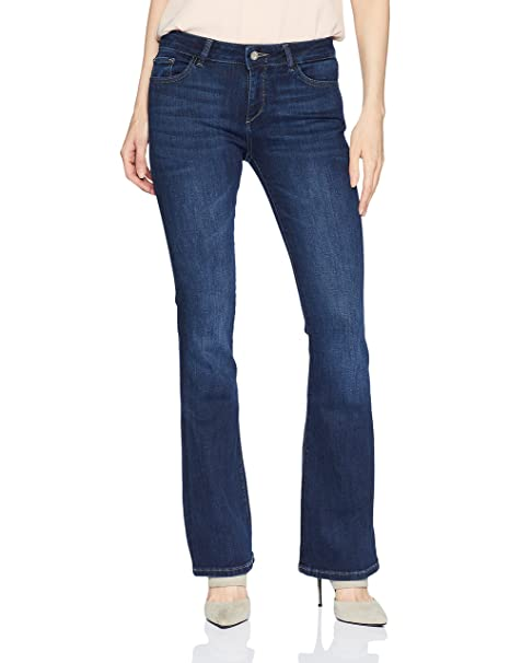 Amazon.com: DL1961 Womens Bridget Mid Rise Bootcut Jeans ...