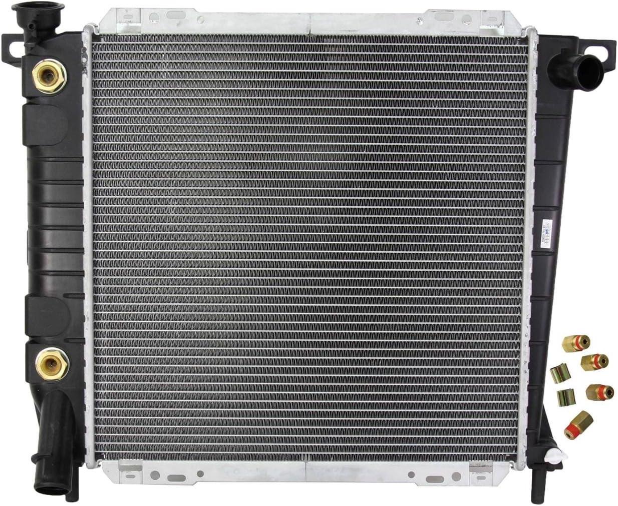 ZFRDA707 OEM Replacement Radiator Zirgo