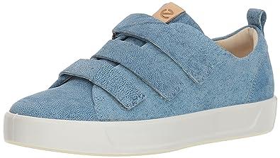 69bb8fcd Amazon.com | ECCO Women's Soft 8 3-Strap Sneaker | Fashion Sneakers