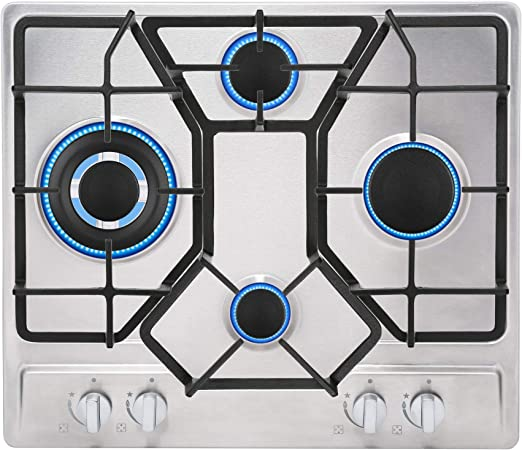 Amazon.com: Parte superior de cocina de cero inoxidable ...