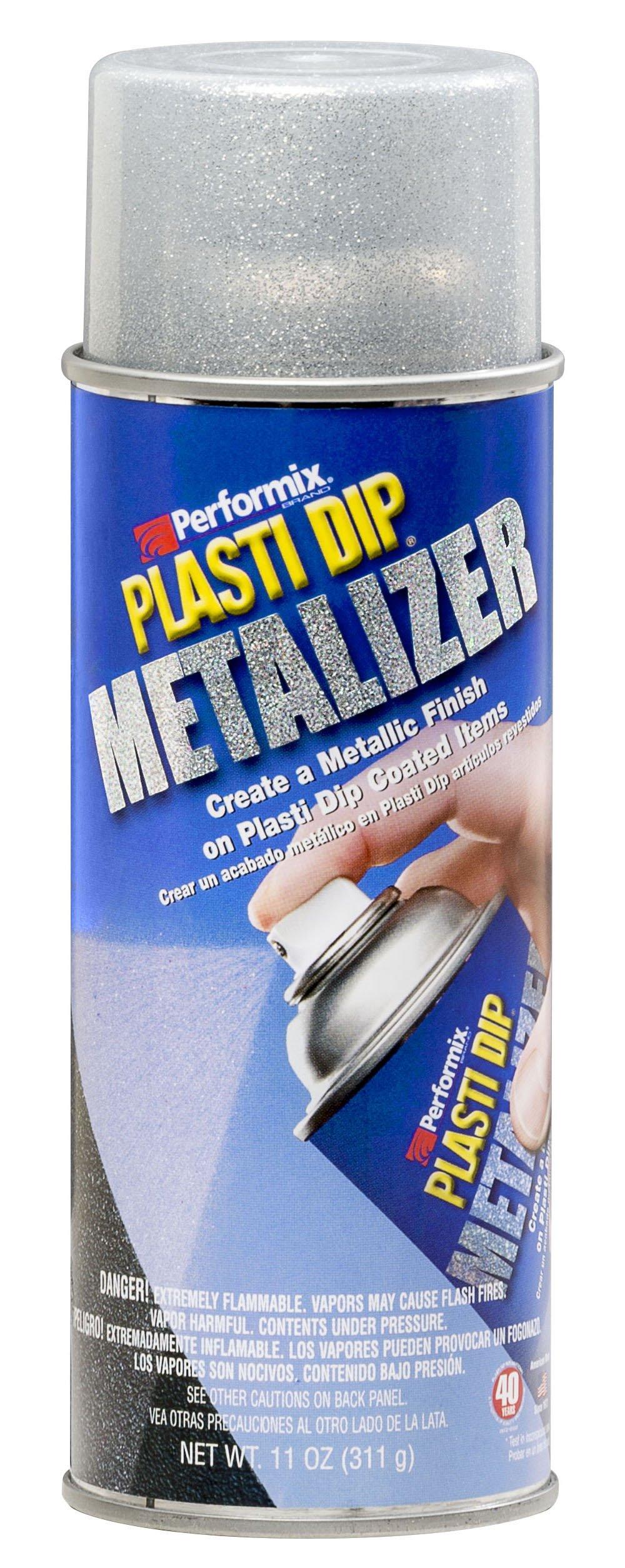 Performix 11247-6-6PK Plasti Dip Bright Aluminum Metalizer - 11 oz., (Pack of 6)