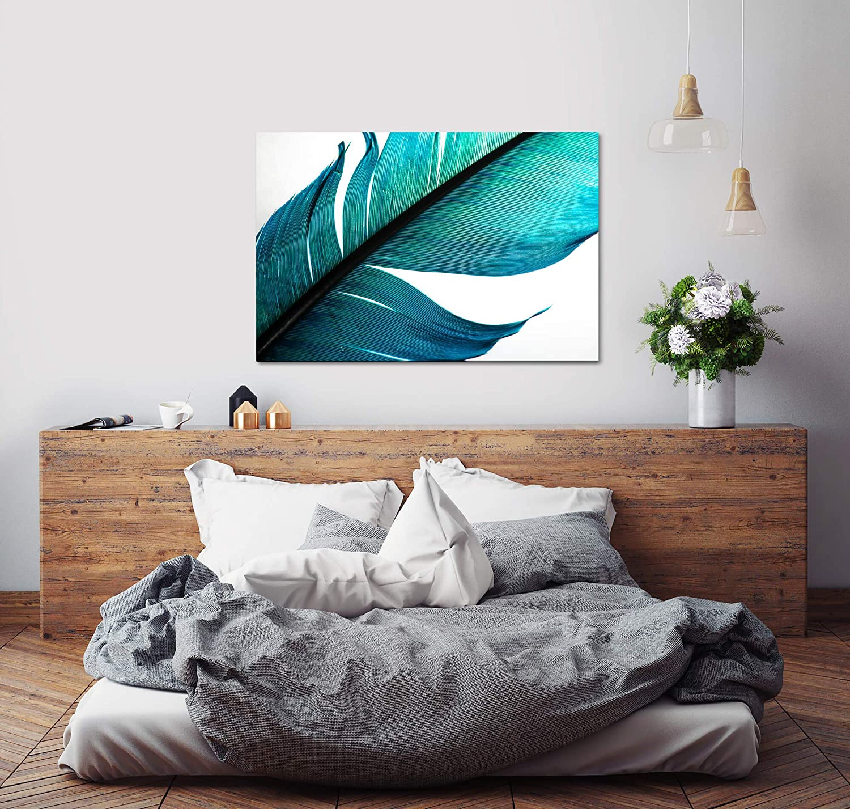 Fabriqu/é en Allemagne 40 x 60 cm Paul Sinus Art Feder Photocunst Inspir/é de qualit/é mus/ée pour Votre Maison comme d/écoration Murale sur Toile