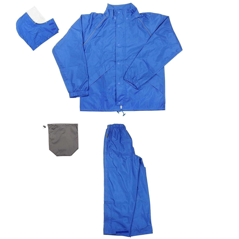 フナハシ ゴールドタイガー レインウェア GTゴア ブルー Mサイズ B01BK731JI M|ブルー ブルー M
