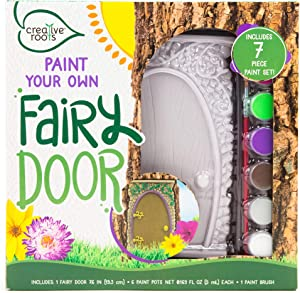 CREATIVE ROOTS Paint Your Own Fairy Door by Horizon Group USA