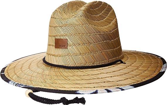 81e4e9b3398c01 Roxy Women's Tomboy Printed Straw Hats at Amazon Women's Clothing store: