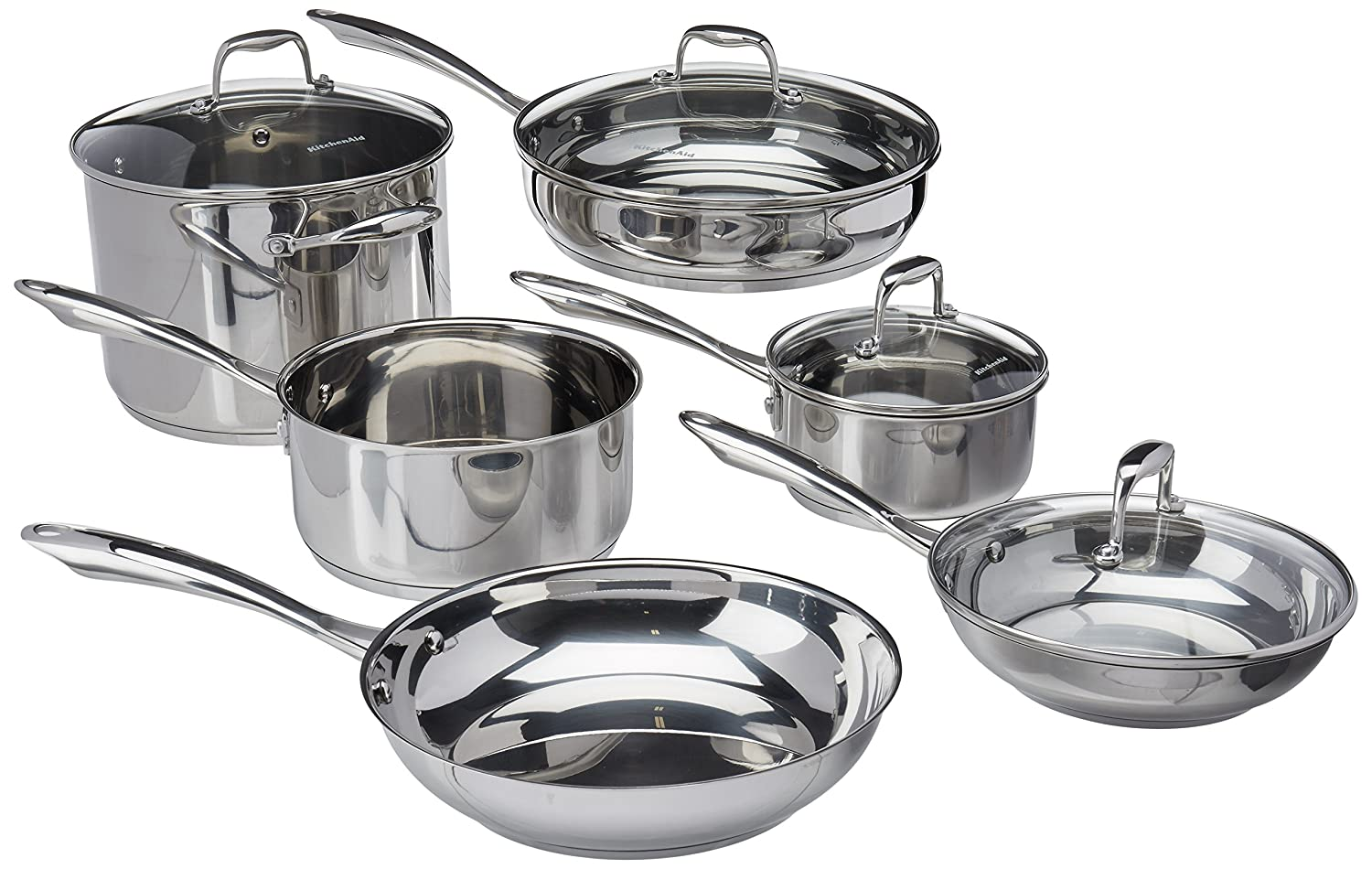 KitchenAid 10-piece set (KCSS10LS) Review