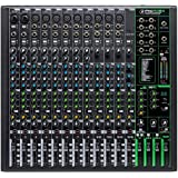 Mackie ProFXv3 Series, 16-Channel Professional Effects Mixer with USB, Onyx Mic Preamps and GigFX effects engine - Unpowered