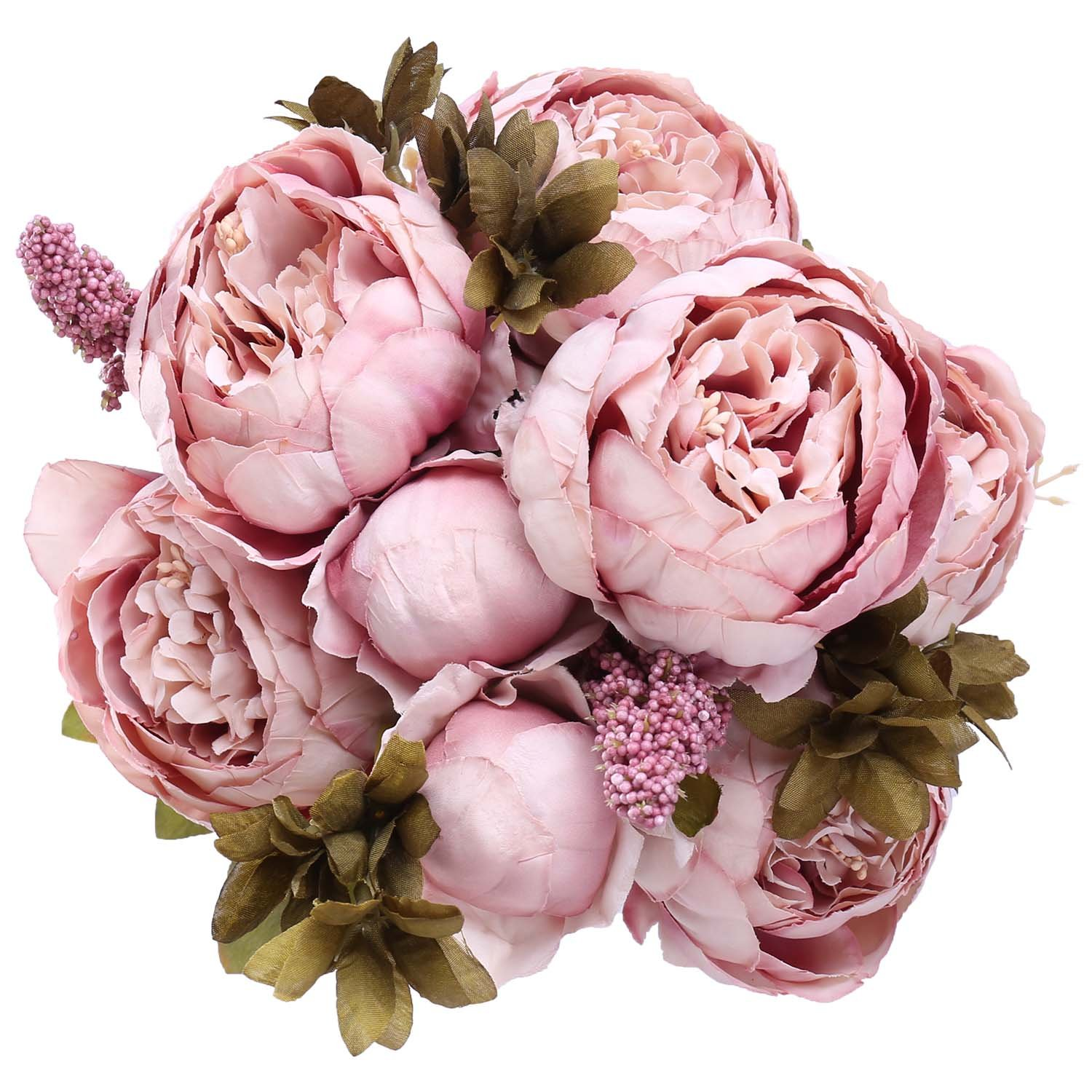StarLifey Super Soft Blooming Peony Home Wedding Decoration Flowers ...