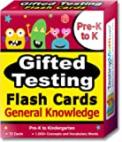 Gifted Testing Flash Cards – General Knowledge for Pre-K – Kindergarten – Gifted and Talented Educational Toy Practice for CogAT, OLSAT, Iowa, SCAT, WISC, ERB, WPPSI, AABL, Woodcock-Johnson and More