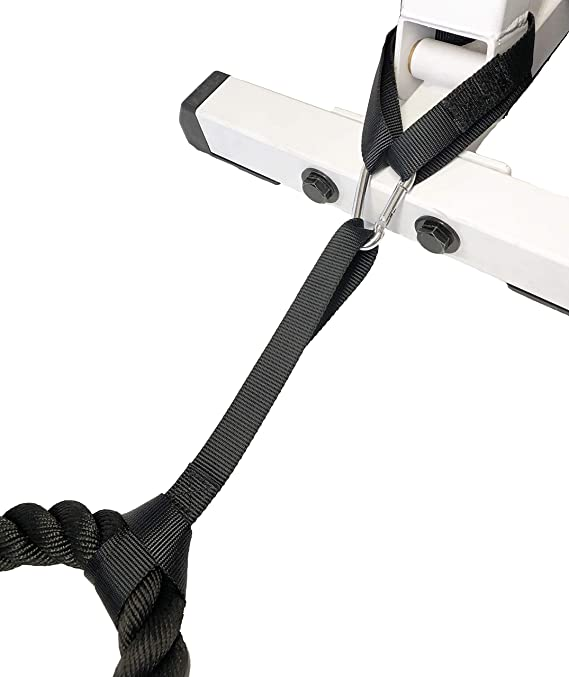 OursGym Traning Rope Anchor and Training Rope Set Training Rope Holder//Rope Storage Hook