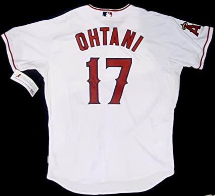 36c44c0e5 Image Unavailable. Image not available for. Color  SHOHEI OHTANI AUTOGRAPHED  Hand SIGNED Anaheim ANGELS Authentic Jersey ...