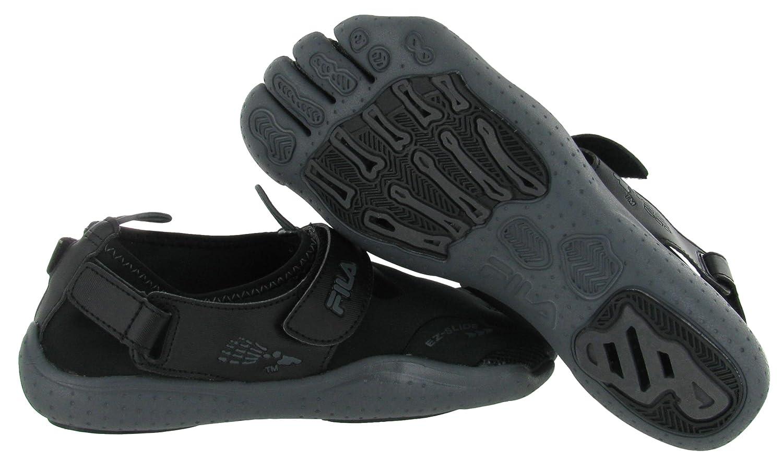 685434fd64a44 Fila Mens Skele Toes EZ Slide Scuba Mixed Media Running Shoes