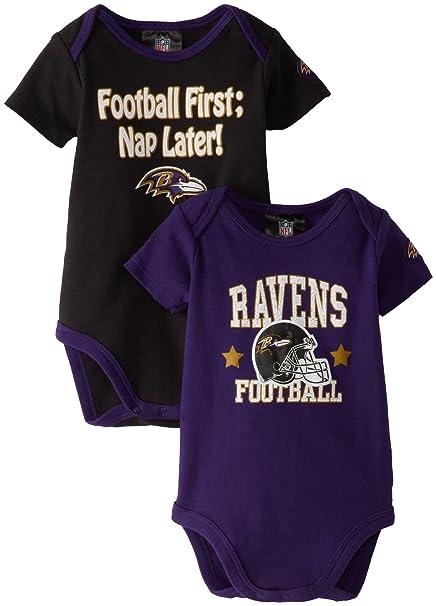 8f959d7a NFL Baltimore Ravens Boy's Short Sleeve Bodysuit