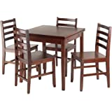 Amazon Com Winsome Inglewood High Pub Dining Table With