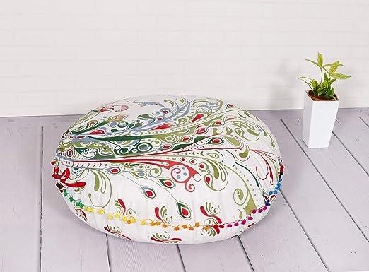 Handicraft-PALACE - Funda de cojín para el suelo con diseño ...