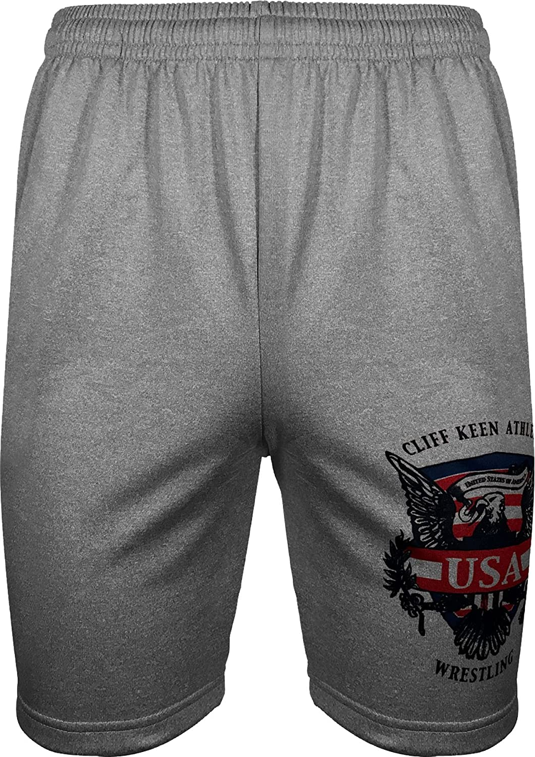 Cliff Keen SHORTS メンズ グレー X-Large