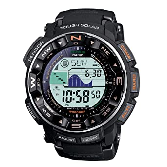 Mens Casio Atomic Solar Pro-Trek Watch