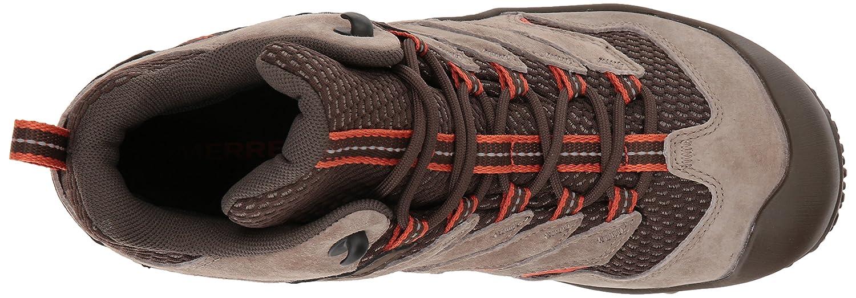 Merrell Women's Chameleon 7 Limit Mid Waterproof Hiking Boot B0728C1LNF 6 B(M) US|Brindle