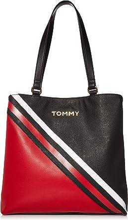 tommy hilfiger black tote
