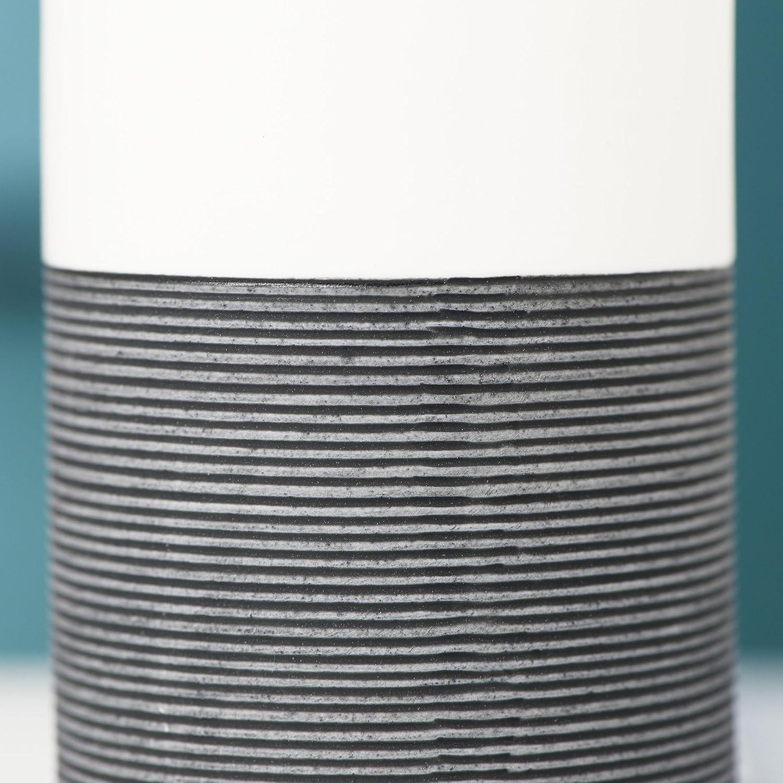 handbemalt Sealskin Becher Doppio Zahnputzbecher aus nat/ürlichem Porzellan Farbe: Sand