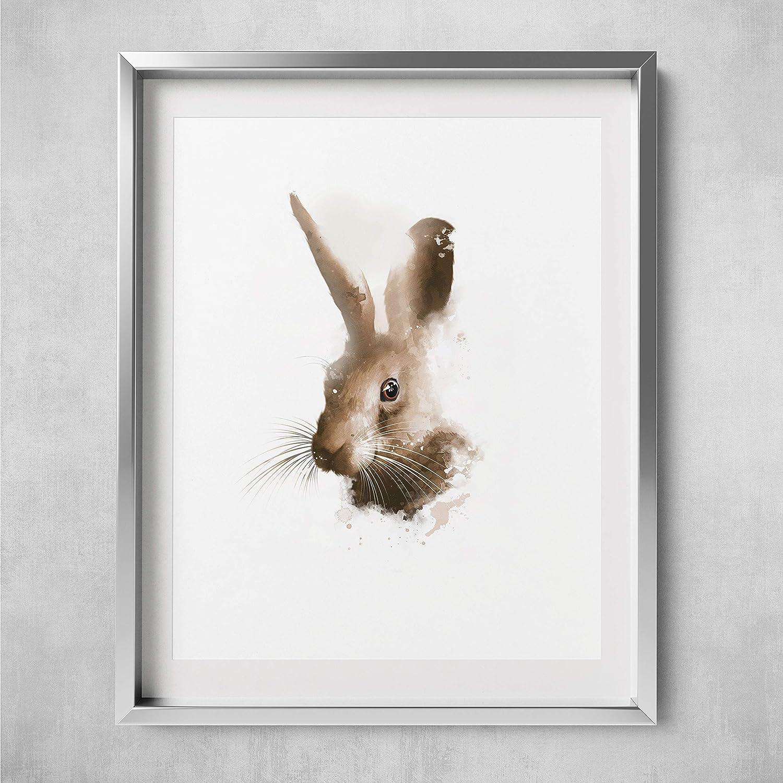 original art A4 /'Hare/' original signed print