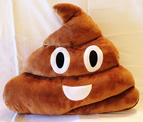Amazon.com: 1 x la poopster Original. Emoji Stuffed Plush ...