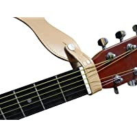 Genuine Leather Guitar Strap Hook Button for Acoustic