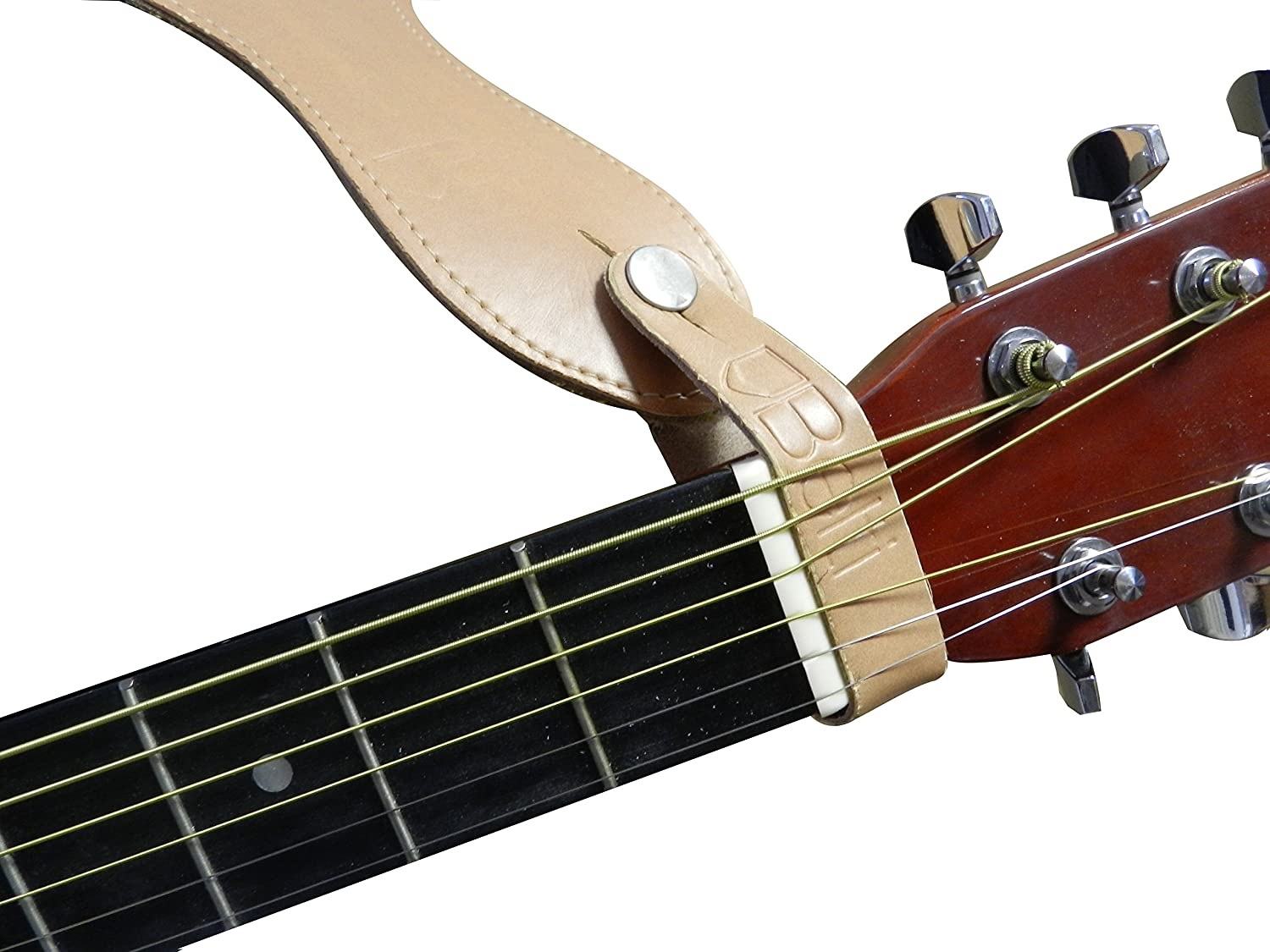 Genuine Leather Guitar Strap Hook Button for Acoustic Belti GZP3Z1