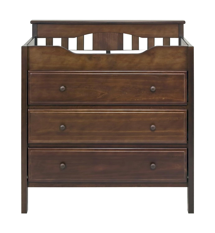 DaVinci 3-Drawer Changer Dresser Espresso