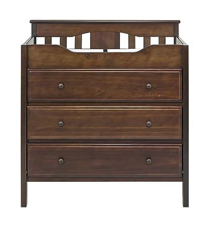 Jayden 3 Drawer Changer Dresser In Espresso