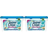 Super Croix Bora Bora Capsule Lessive 20 Doses / 20 lavages - Lot de 2