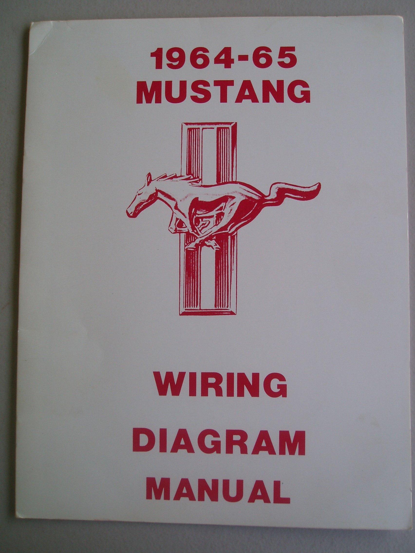 Strange 1964 65 Mustang Wiring Diagram Manual Ford Motor Company Amazon Wiring Digital Resources Nekoutcompassionincorg