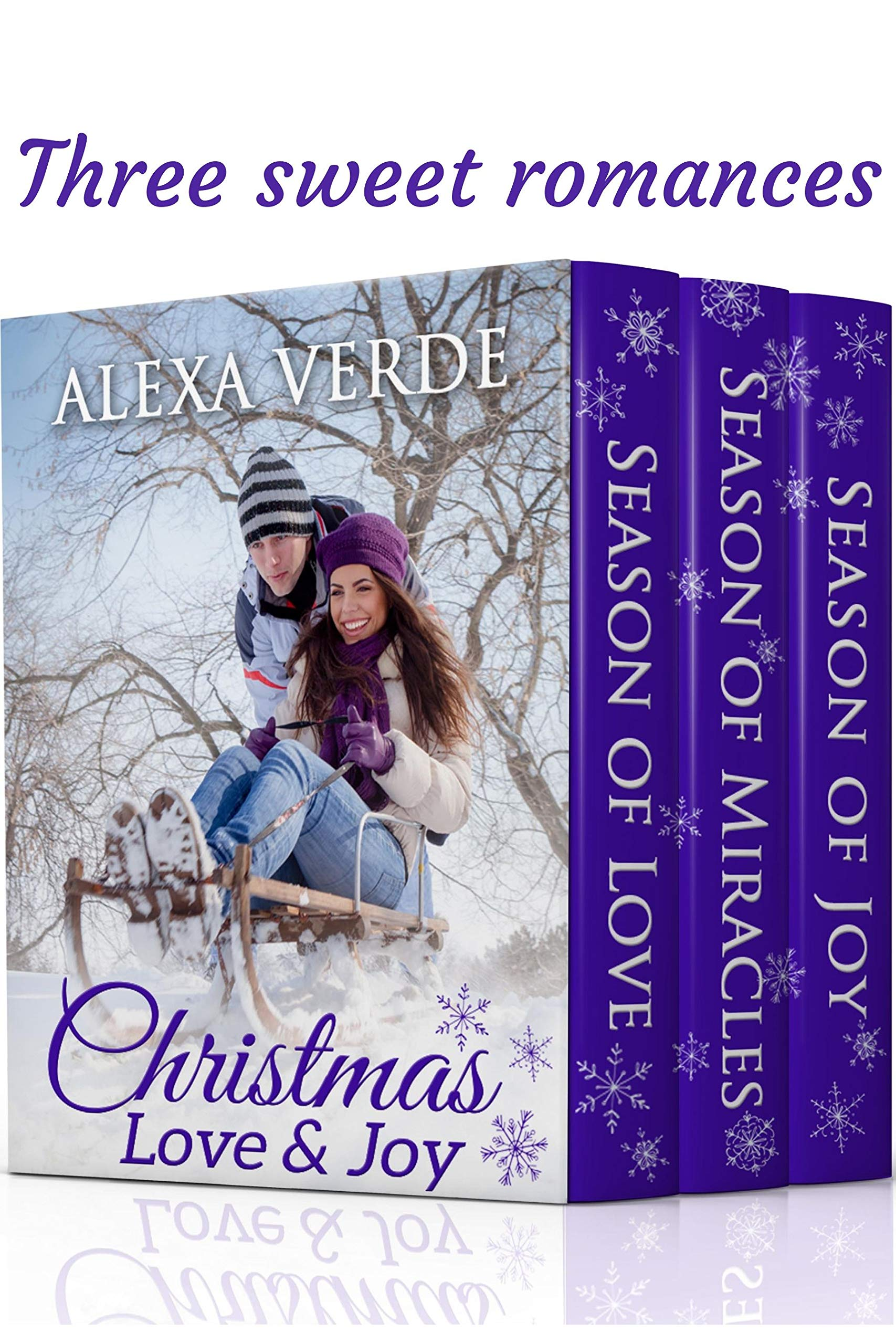 Christmas Love And Joy  Three Sweet Clean Christian Romances Set In A Small Town  English Edition