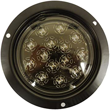 flush mount led lights bumper kl red stop turn tail reverse amazon offroad