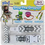 Stop the Dropsy 3-in-1 Combo Pack (Gray & White Chevron)