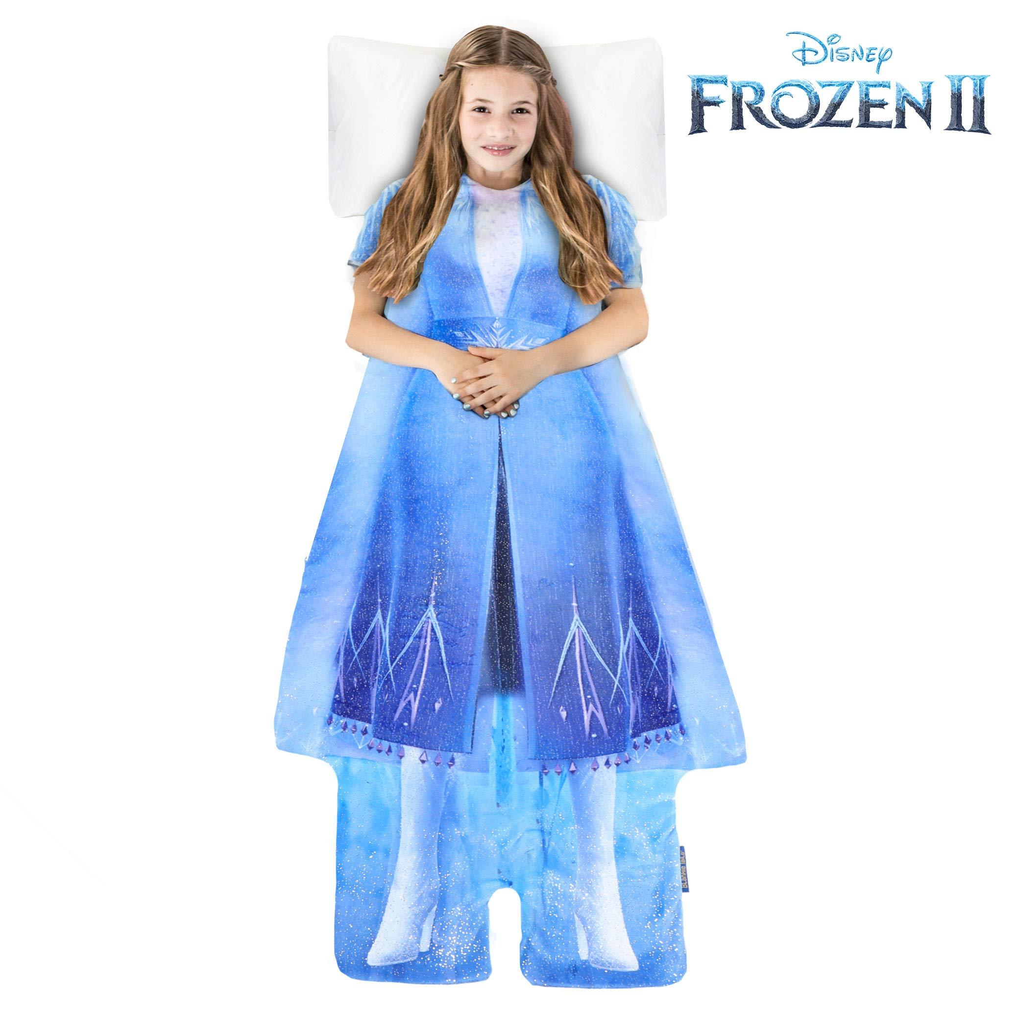 Blankie Tails Disney Frozen 2 Adventure Elsa Wearable Blanket by Blankie Tails