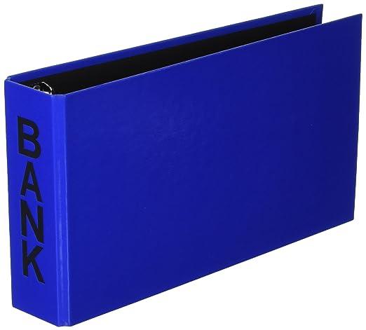 Aulfes 40801-01 - Archivador para extractos de banco (250 x 140 x 50), color negro: Amazon.es: Oficina y papelería