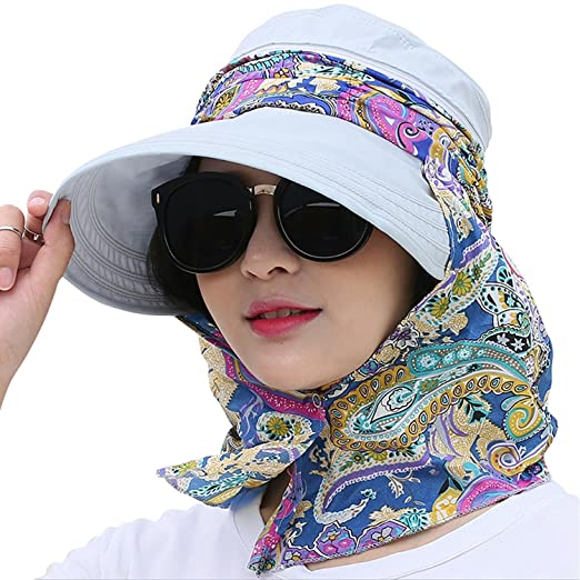 100% authentic utterly stylish shop best sellers Women Ladies Foldable Wide Brim Cap Fishing Bucket Hat ...