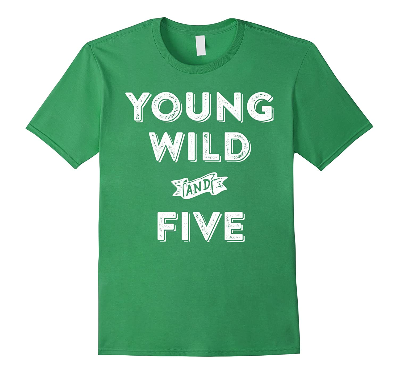 5th Birthday Shirt Boy