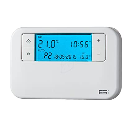 ESI - Termostato programable de ahorro de energía Innovation Controls ESRTP4, color blanco