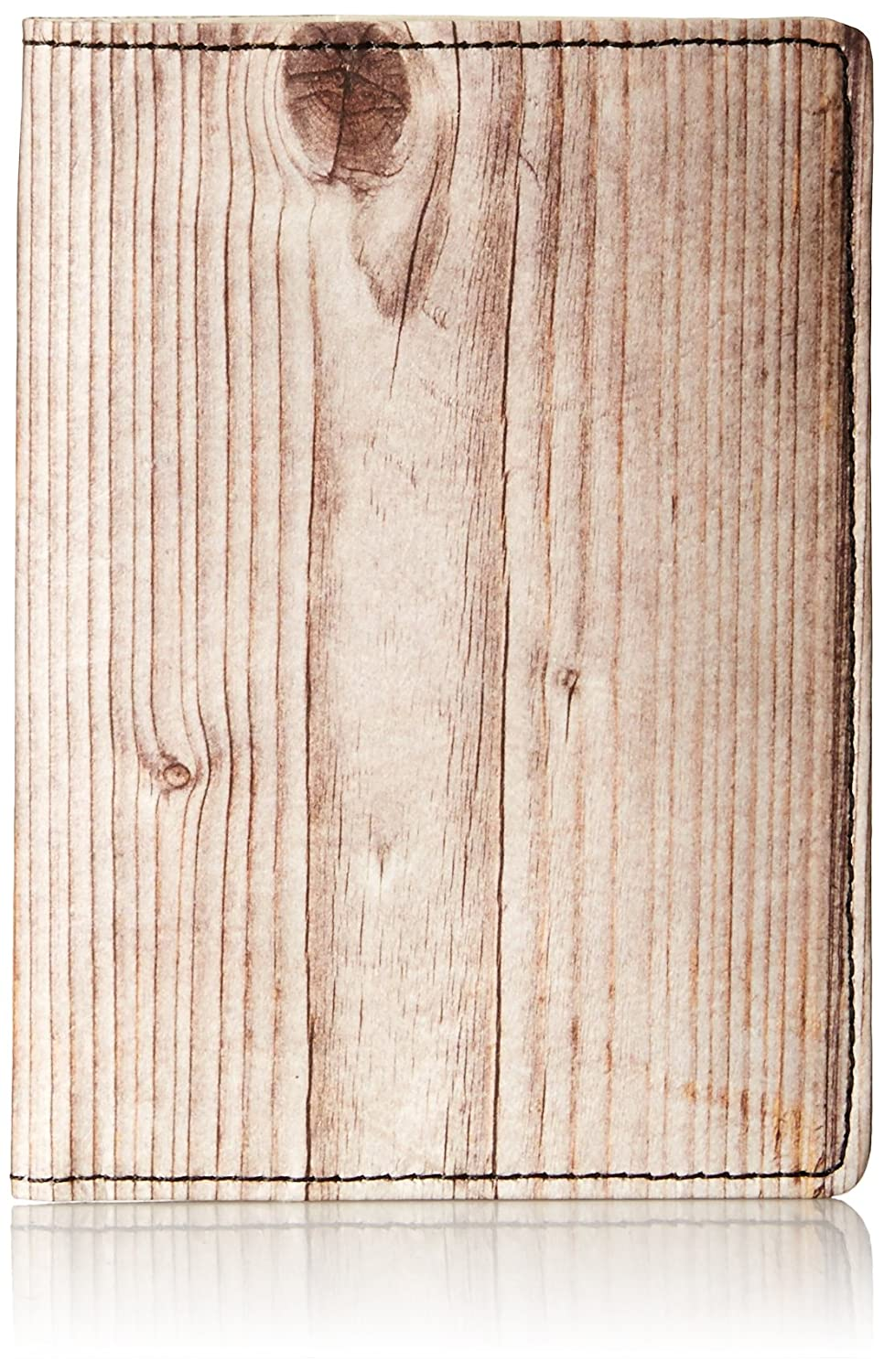 Dynomighty Men's Mighty Passport Cover Wood, Multi, One Size PP-006