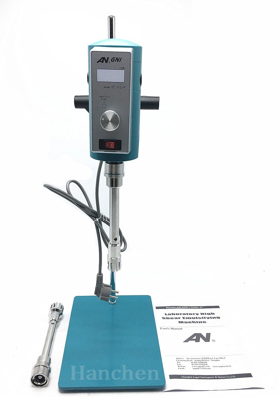 Amazon.com: Lab Homogenizer Disperser Mixer high-speed dispersion homogenizer AD300L-H 300-18000rpm Digital Display 28 & 36G: Kitchen & Dining