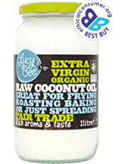 Lucy Bee Extra Virgin Organic Raw Fairtrade Coconut Oil 1 Litre