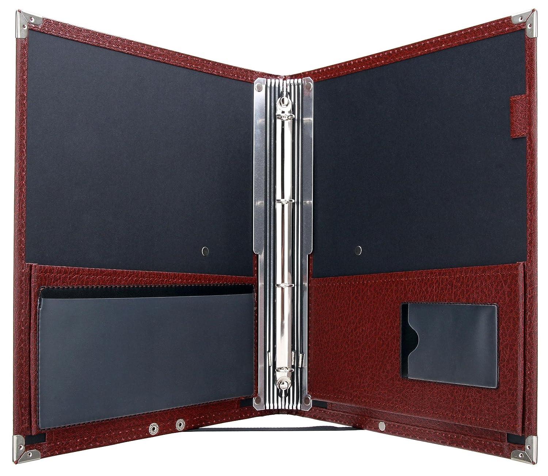 Classic Cantabile B16BK - Cartera de notas Deluxe, color marrón oscuro: Amazon.es: Instrumentos musicales