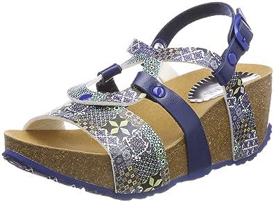 Femmes Shoes_bio9 Mosaïque Slingback Sandalen Desigual Fqorvho7Rn