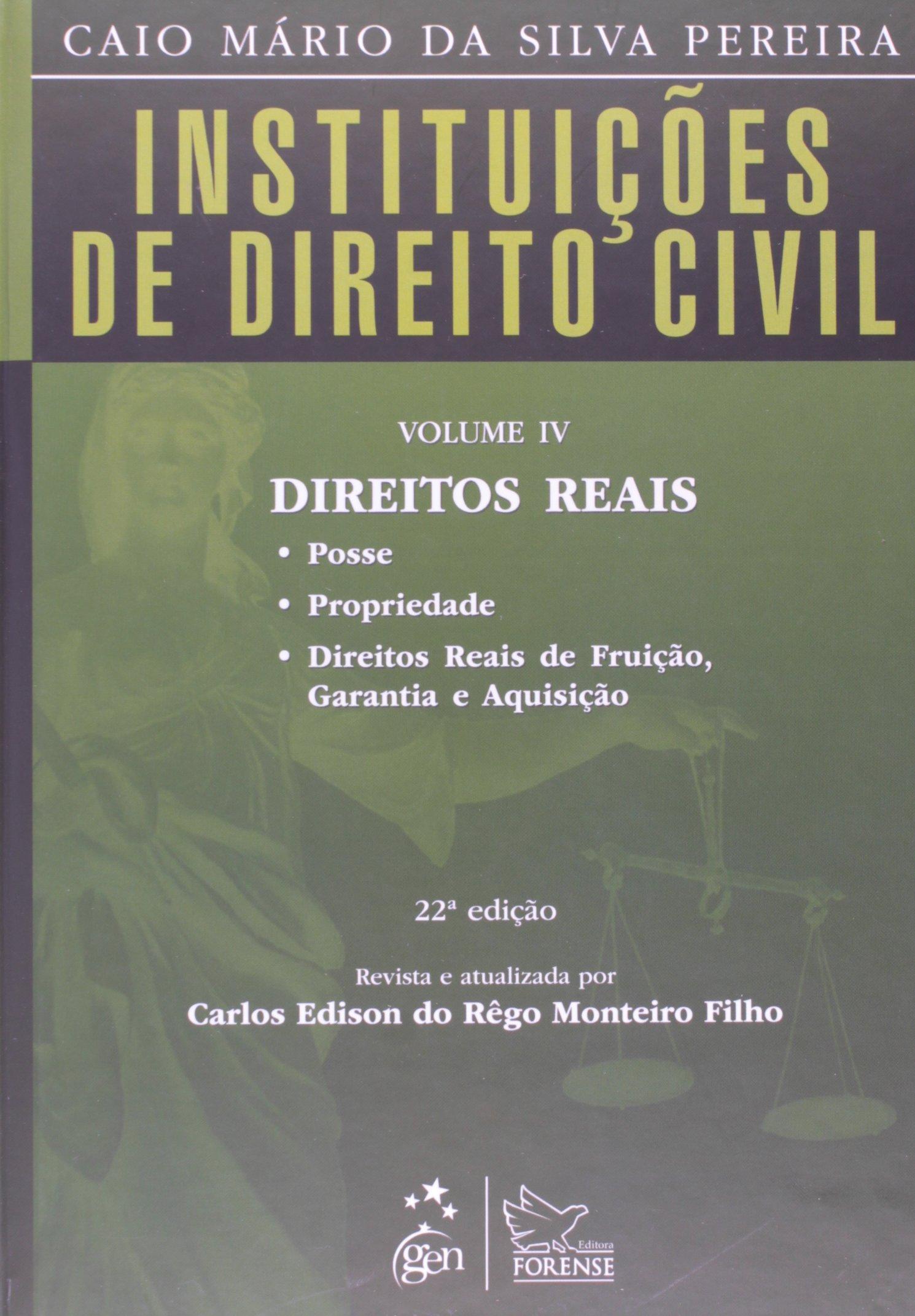 Read Online Instituicoes De Direito Civil - V. 04 - Direitos Reais pdf