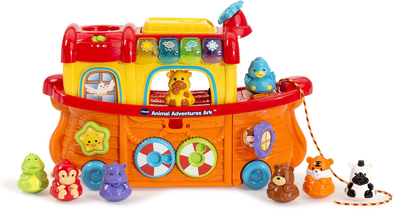 NEW VTech Push Along Pet Carrier Toddler Pretend Play Christmas Birthday Gift