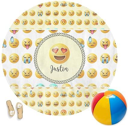 Emojis Ronda toalla de playa (personalizado)