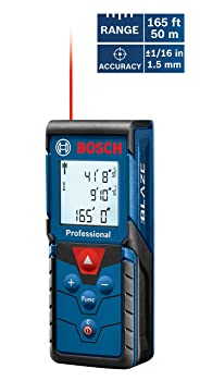 Bosch GLM 165-40 Laser Distance Measure Tool