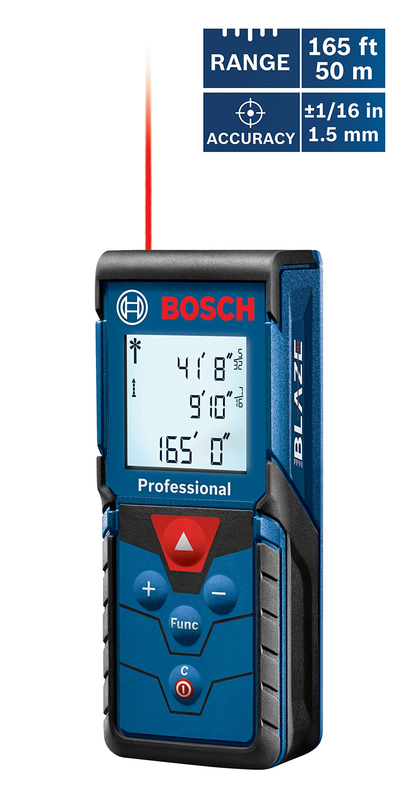 Bosch GLM 80 and R 60 Combo Kit with 265-Foot Distance Measurer and 24-Inch Digital Level